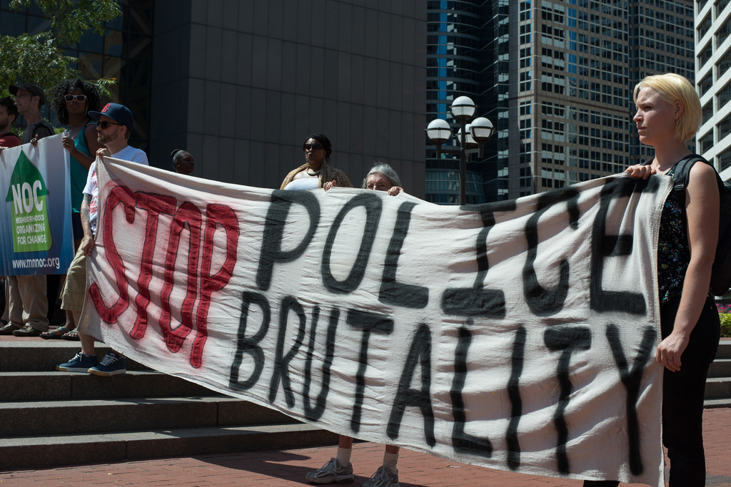 police brutality photo