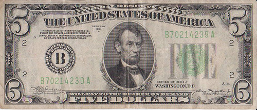 Federal Reserve Note photo