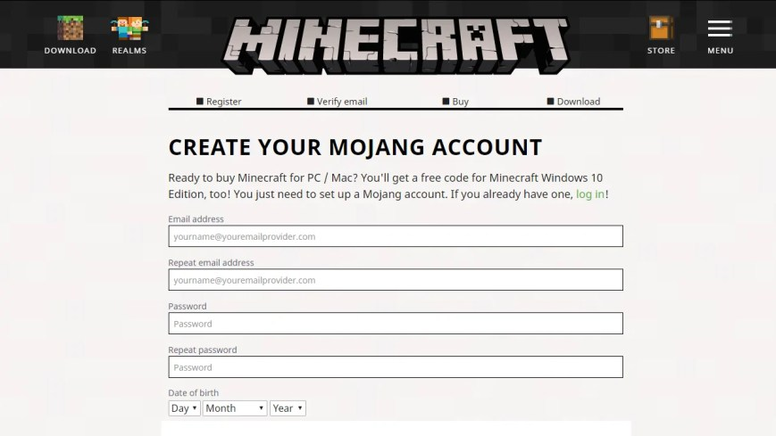 minecraft java edition code free