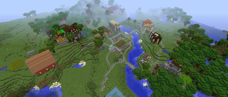 Liberty Minecraft Spawn Village 2016-2017