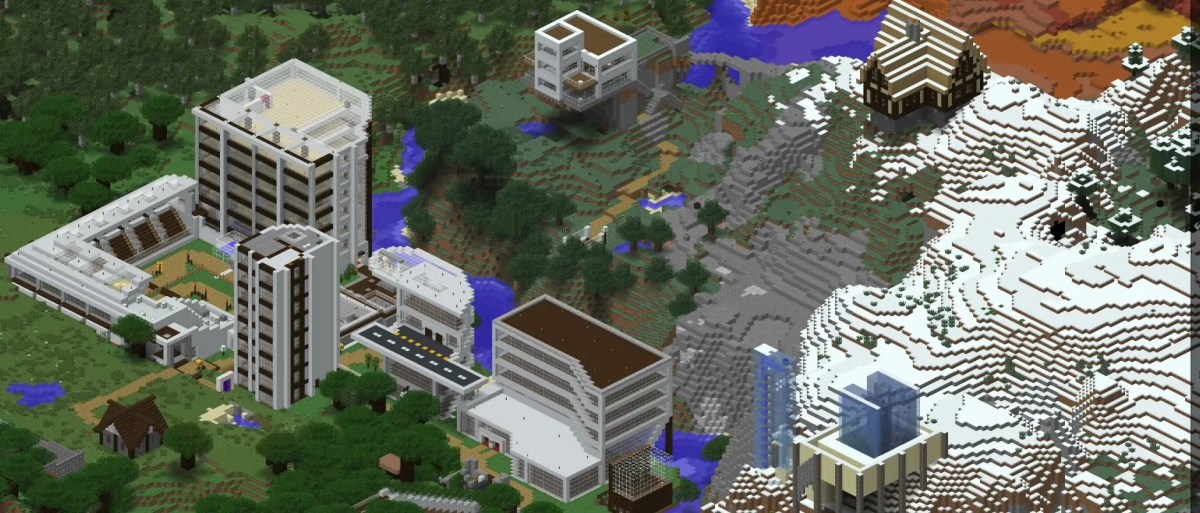 """""""Google Maps"""" for Liberty Minecraft - Dynmap"""