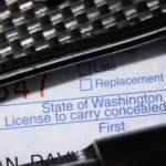 Washington CPLs Surge Again; Part of Pre-Election 'Lard Up' on Guns?