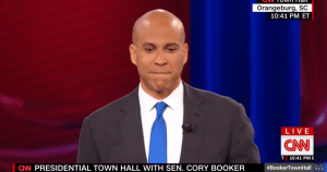 Booker Demands 'Camo-Speak' from Buttigieg on Gun Control