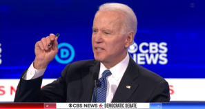 Biden's 'Pinocchio Nose' Gun Death Debate Claim Ridiculed