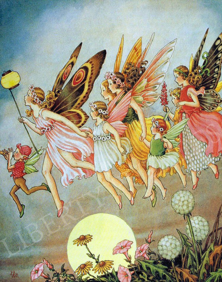 When The Fairies Came Wooden Jigsaw Puzzle Liberty