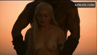 Emilia Clarke Kissing and Sex Scenes Compilation