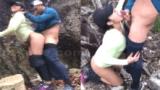 Napalaban sa hiking adventure sex si pinoy sa nobyang kana