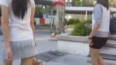 Boso sa mga naka Short Skirt - Ang Yummy talaga
