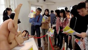 Art Shows kantutan sa harap ng mga Tao - Only in Japan lol