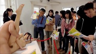 Art Shows kantutan sa harap ng mga Tao - Only in Japan lol