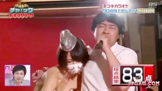 Part 1 - Karaoke challenge - Na-ulol si koya na kumakanta habang sina salsal siya ni ate girl