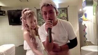 Part 2 - Karaoke challenge - Na-ulol si koya na kumakanta habang sina salsal siya ni ate girl