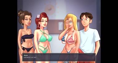 Part 4 - Summertime Saga 0.18.2 All sex scenes (Para sa mga libog gamers)