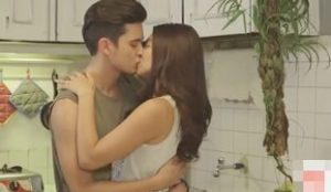 James Reid and Nadine Lustre Kissing Compilation (JaDine)