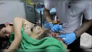 Nagpalagay ng Tattoo sa Buong Katawan si Ganda