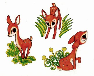 bambi-illustration-biche
