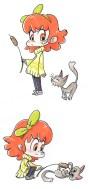 petite-fille-chat-illustration