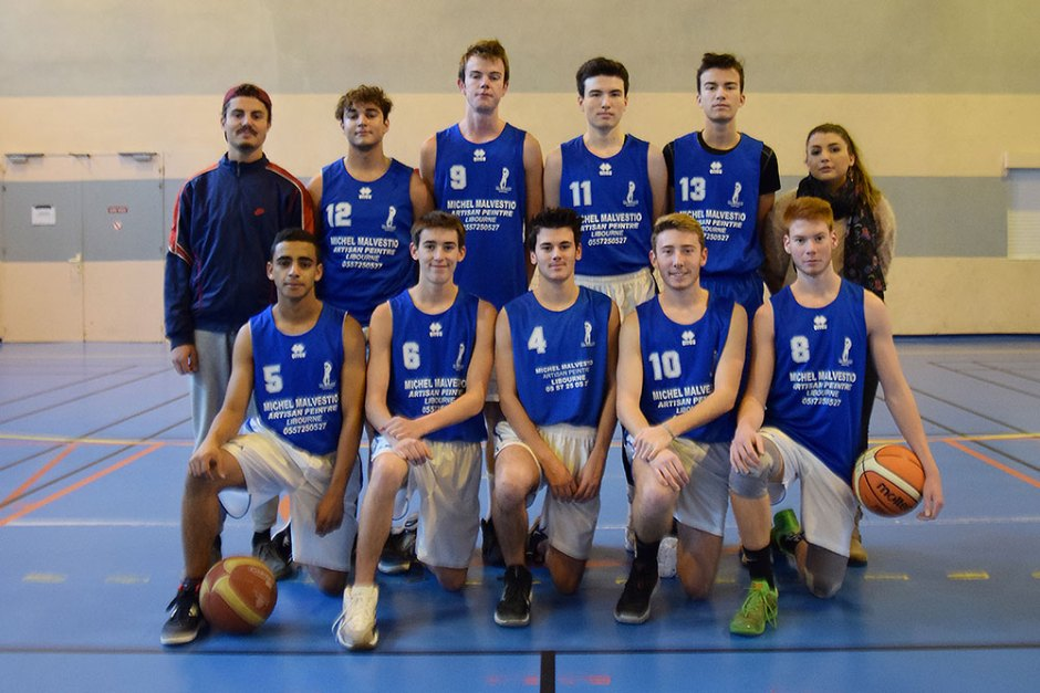 Juniors Garçons Vallée de l'Isle Libourne Basket