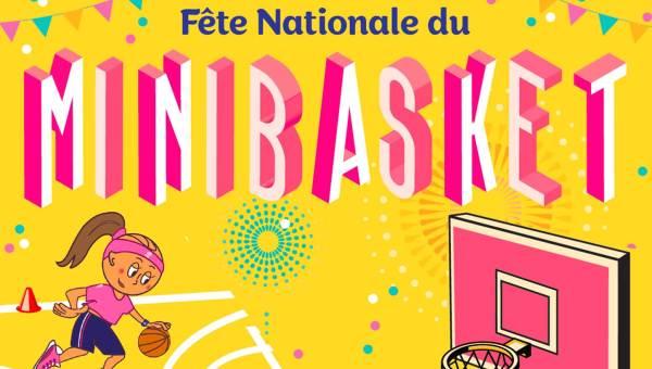 fête du mini basket à Libourne
