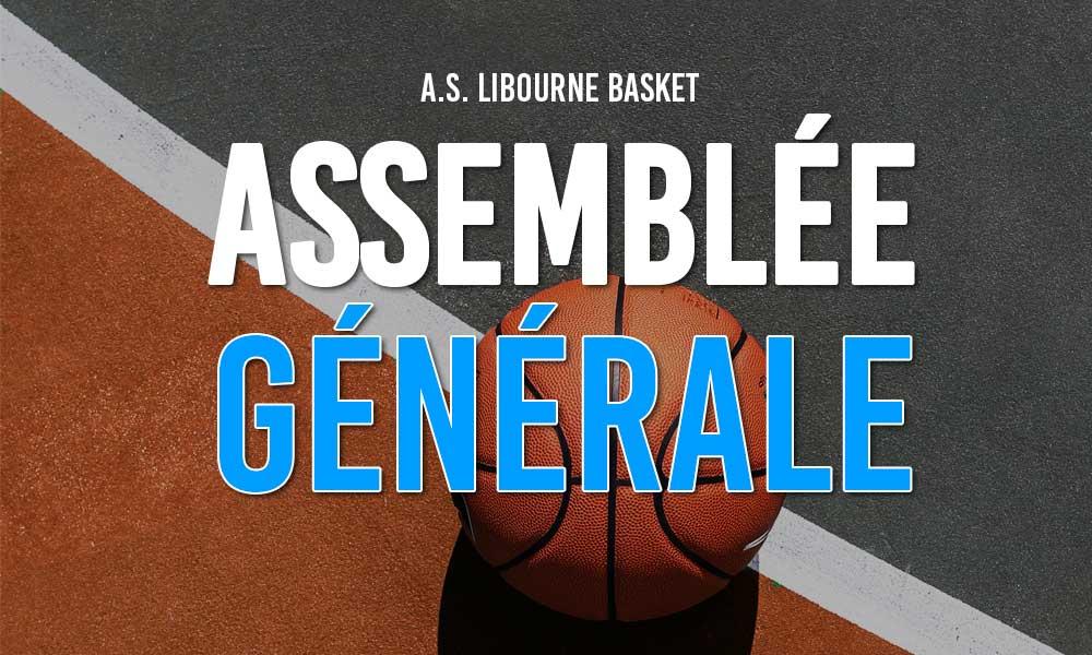 Assemblée Générale du club de Libourne Basket