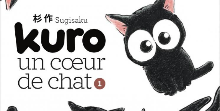 Kuro un coeur de chat
