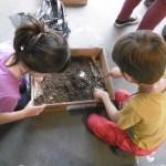 Les petits archéologues en pleine action