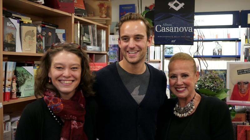 Joël Dicker, Eve Bohu et Nicole Maruani