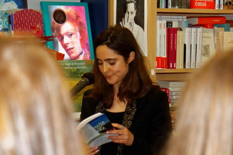 Elsa Vasseur lecture de son premier roman
