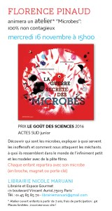 atelier microbes florence pinaud