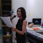Barbara Grau lit un extrait de Atelier d'Ecriture