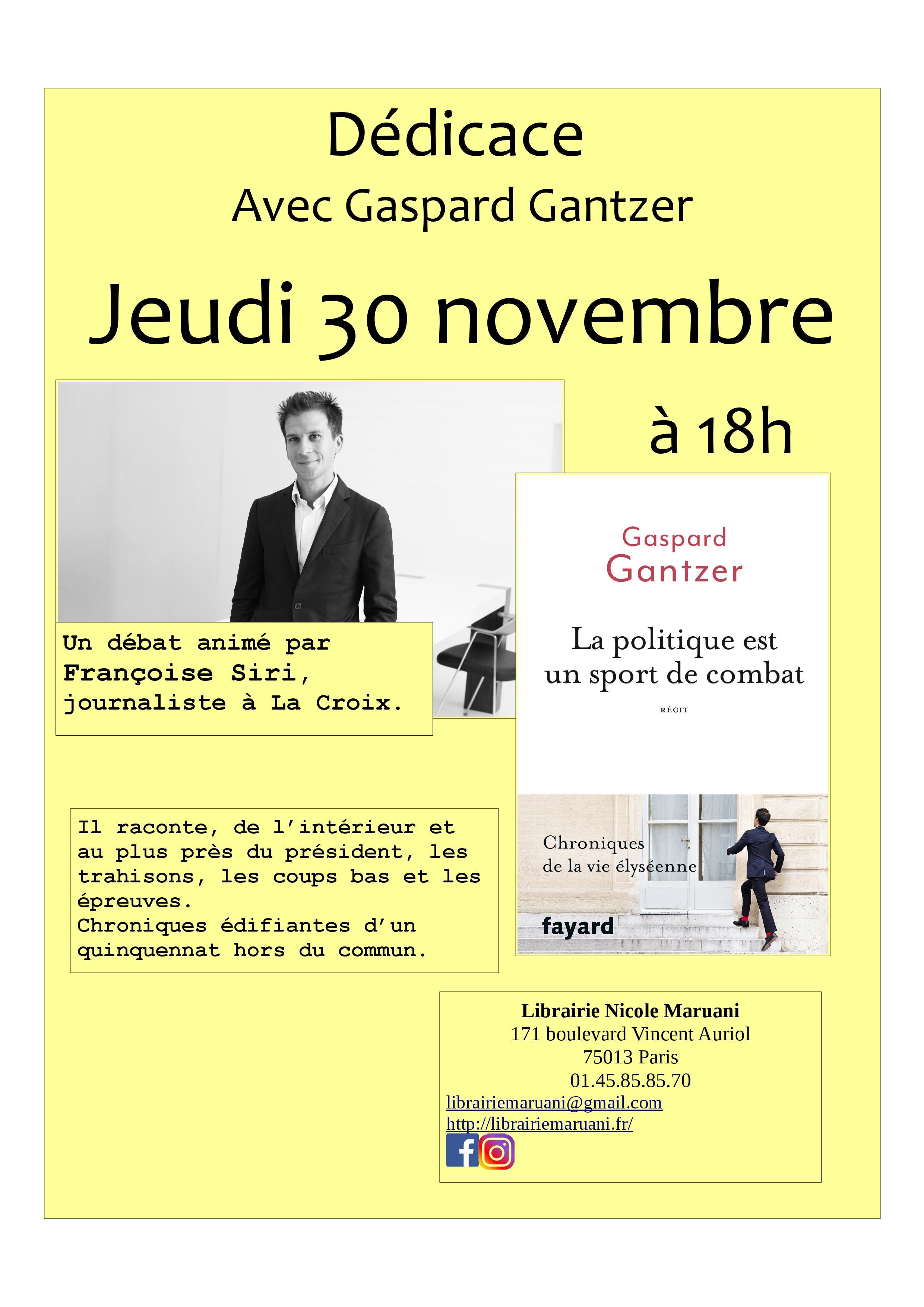 Rencontre avec Gaspard Gantzer