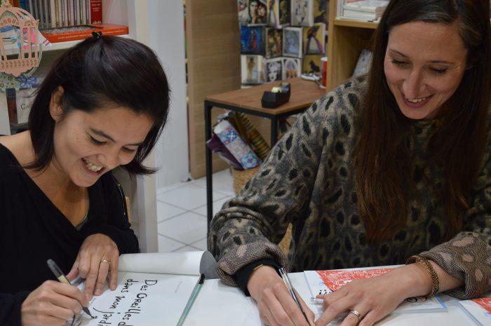 dédicace avec Izumi Mattéi-Cazalis et Alexandra Mory-Béjar
