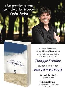 Rencontre avec Philippe Krhajac