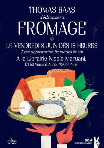 Fromage - avec l'illustrateur Thomas Baas