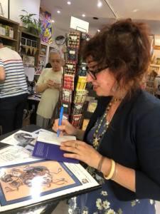 sarah viguie, foxa, artiste, chevaux, vernissage, librairie maruani