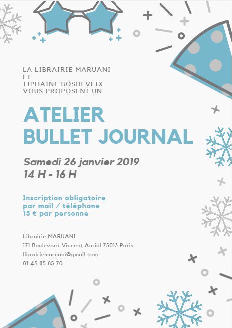 Atelier Bullet Journal