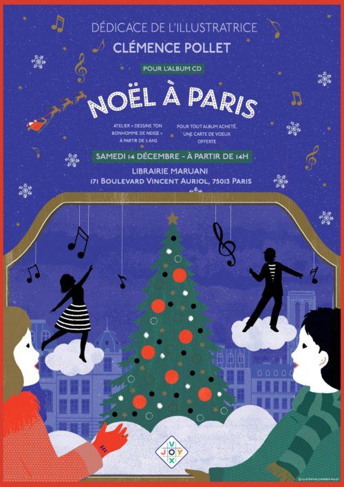 Atelier-Dédicace Noël à Paris