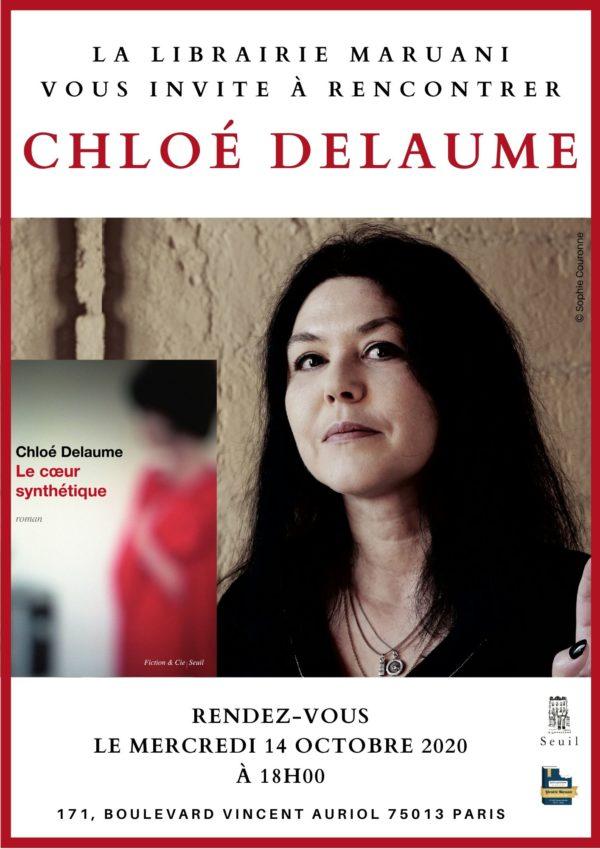 Rencontre Chloé Delaume