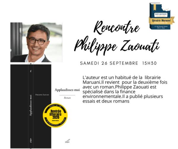 Rencontre Philippe Zaouti