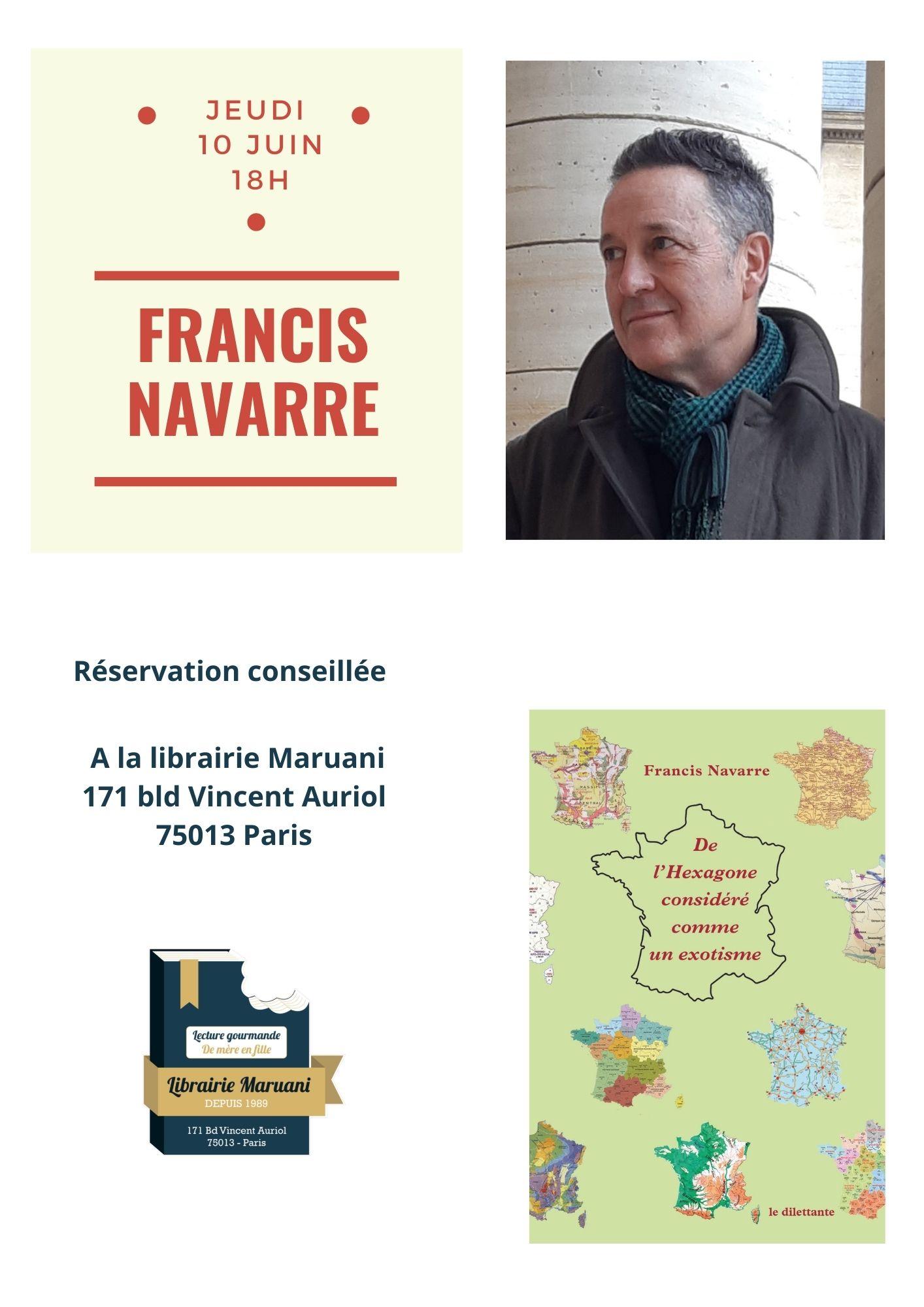 Rencontre Francis Navarre