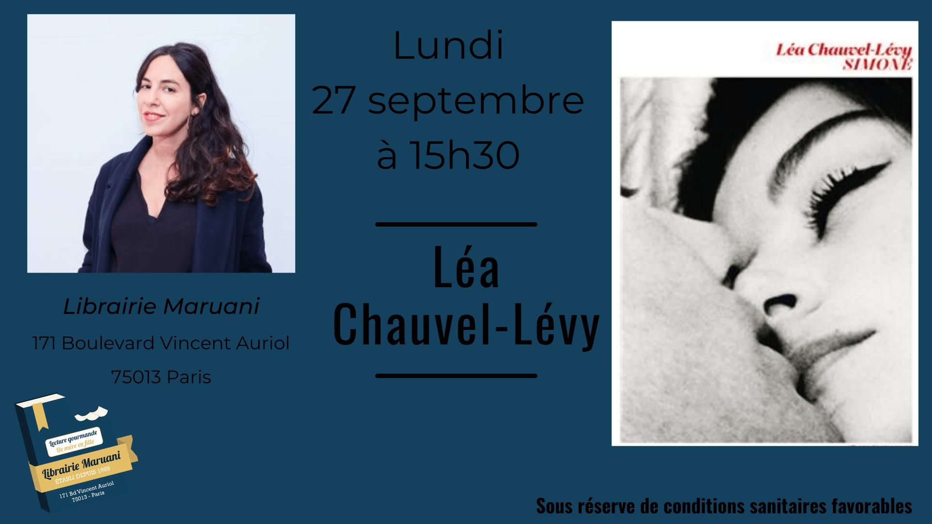 Rencontre avec Léa Chauvel-Lévy