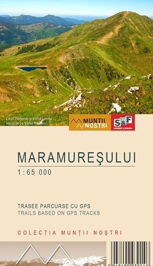 Harta de drumetie a Muntilor Maramuresului
