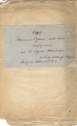 image of Haehl Manuscript