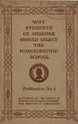 image of homeopathy pamphlets