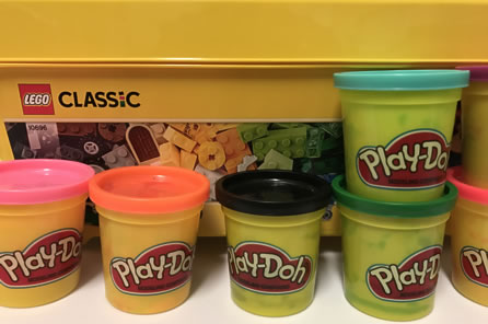 Lego & Play-Doh