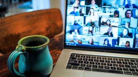 multi-person video call