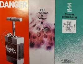 anti tobacco pamphlets