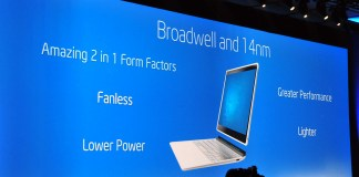 Intel Corporation (NASDAQ:INTC) Broadwell Chip at the CES 215