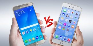 Apple Iphone7 Vs. Galaxy Note 7