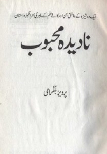 Nadeeda Mehboob Novel By Parvez Bilgrami Pdf